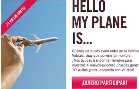 Volotea regala 10 vuelos gratis. Cómo conseguirlo