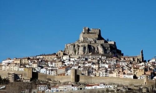 Recorra Morella en España