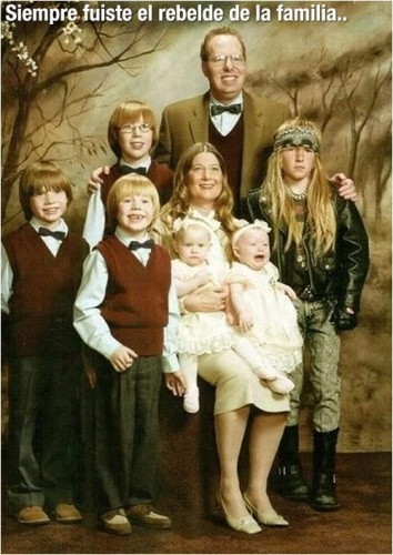 El rebelde de la familia