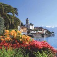 Recorra el romántico lago Maggiore