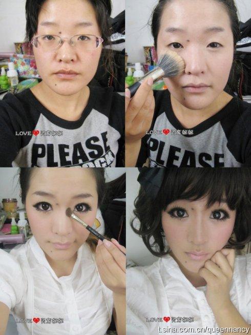 Lo que hace el maquillaje