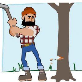 El hombre lumbersexual ha llegado con su barba ruda