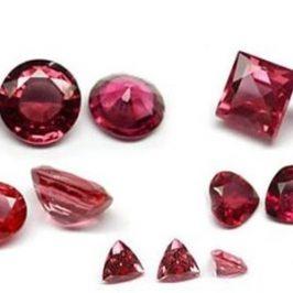 Características de los rubíes