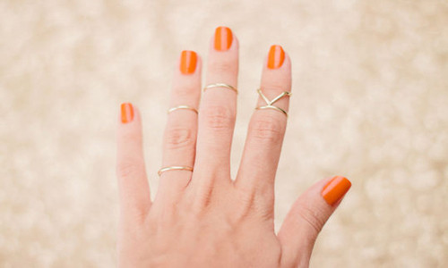 La última moda: los midi rings