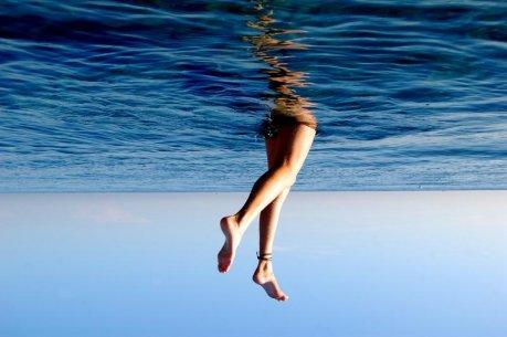 Bañándose en Australia
