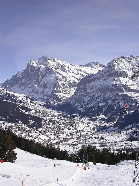 Uno de los lugares más espectaculares para esquiar