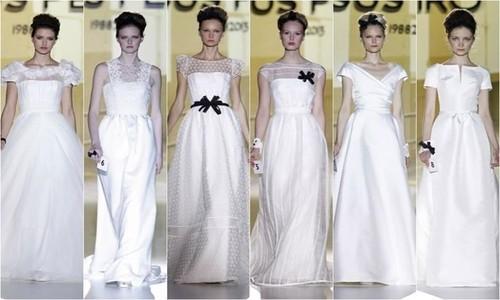 Los principales modelos del Bridal Week de Barcelona